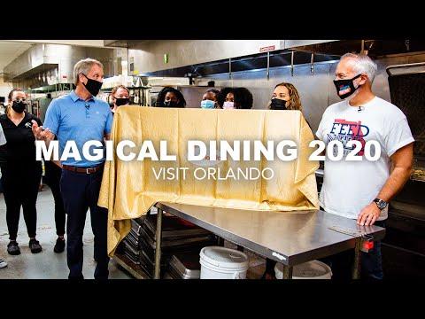 2020 Check Donation | Visit Orlando's Magical Dining