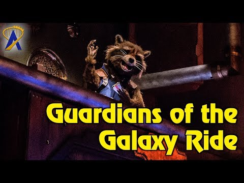 Guardians of the Galaxy - Mission: Breakout! Ride, Pre-Show and Queue Highlights