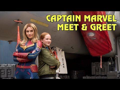 Captain Marvel Meet & Greet at Disney California Adventure