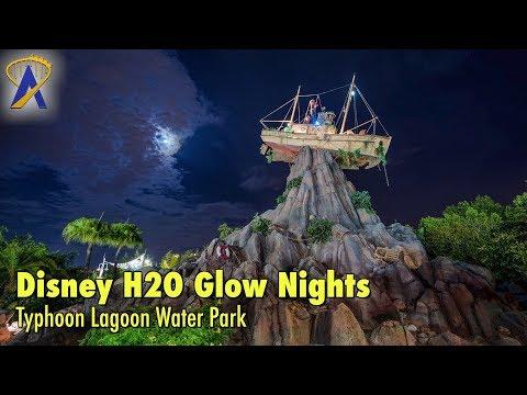 Disney H2O Glow Nights at Typhoon Lagoon Water Park
