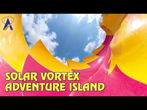 Solar Vortex First Look at Adventure Island in Tampa