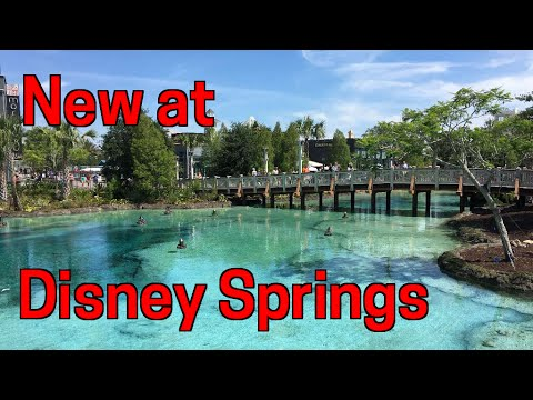 Tour the new Town Center at Disney Springs (Formerly Downtown Disney)