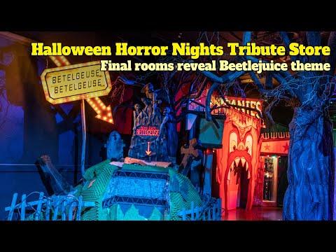 'Beetlejuice' And 'Halloween Favorites' Revealed Inside Halloween Horror Nights 2020 Tribute Store