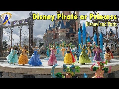 Disney Pirate or Princess: Make Your Choice! at Disneyland Paris