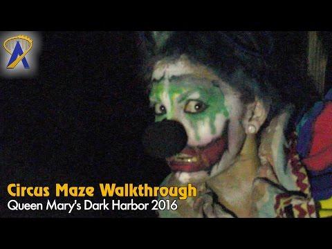 Circus - Full Maze at Queen Mary Dark Harbor 2016