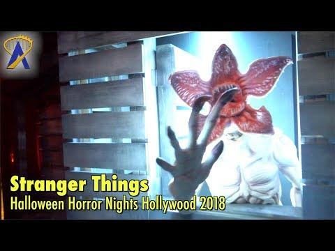 Stranger Things maze at Halloween Horror Nights Hollywood 2018
