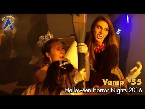 Vamp '55 Scare Zone for Halloween Horror Nights 2016 at Universal Orlando