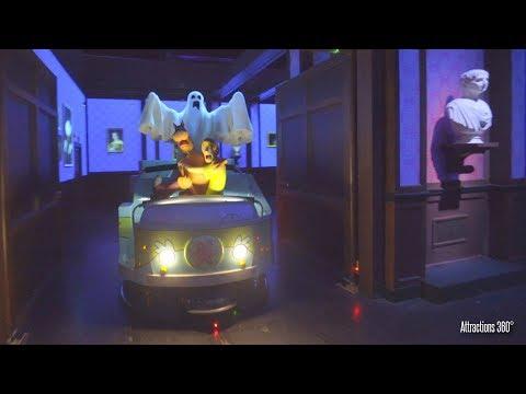 [4K] Scooby Doo Dark Ride - Trackless Ride - Warner Bros World Theme Park