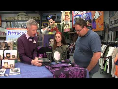Attractions - The Show - March 7, 2013 - New Haunted Mansion & Oz items, plus Fun Spot construction