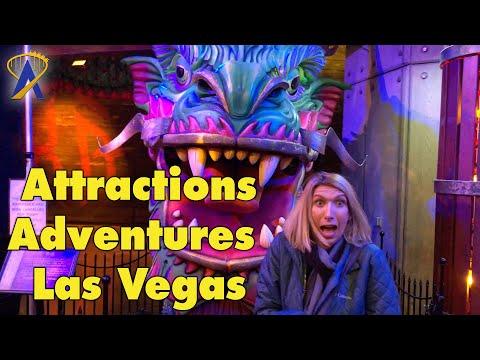 Vegas Vlog, an Attractions Adventure