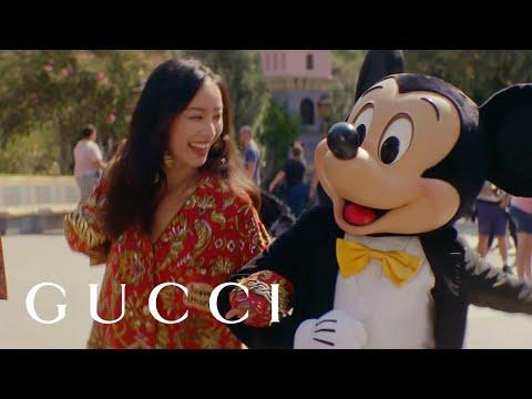 Gucci Chinese New Year campaign: #DisneyXGucci