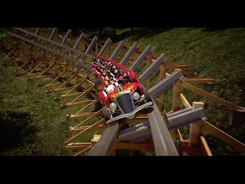 World's Fastest Wooden Roller Coaster, Lightning Rod, coming to Dollywood