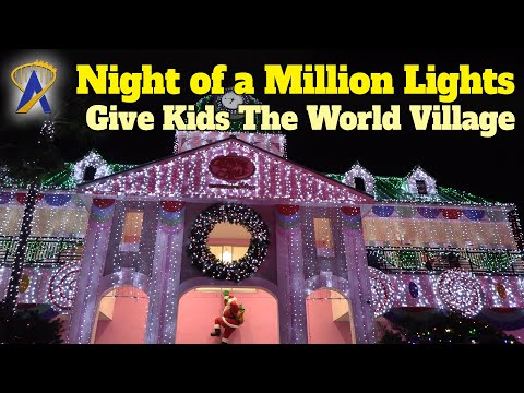 Report from Night Of A Million Lights Holiday Spectacular at Give Kids the World Village
