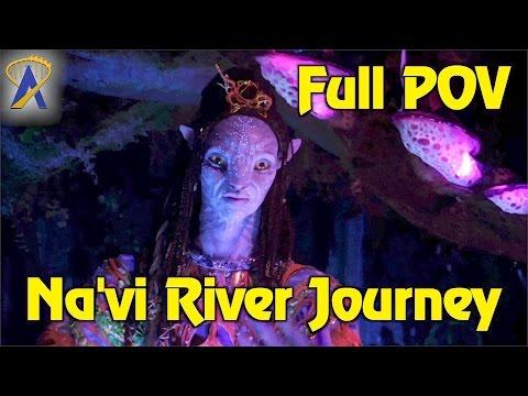 FULL Na'vi River Journey low light ride-through POV in Pandora - The World of Avatar