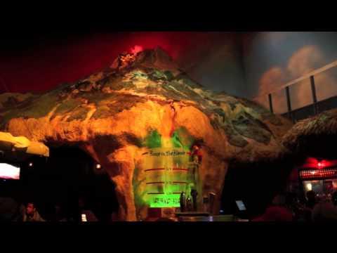 The Volcano Bar erupts at Margaritaville at Universal Orlando CityWalk