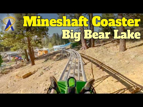 Mineshaft Coaster – California's First Mountain Coaster Opens At Alpine Slide in Big Bear Lake