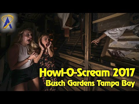 Howl-O-Scream 2017 Highlights at Busch Gardens Tampa Bay