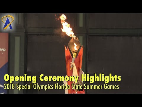 2018 Special Olympics Florida State Summer Games Opening Ceremony Highlights