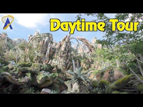 Daytime look at Pandora - The World of Avatar at Disney's Animal Kingdom