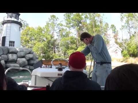 Jaws ride at Universal Studios Orlando, Florida - Full Ride-Through