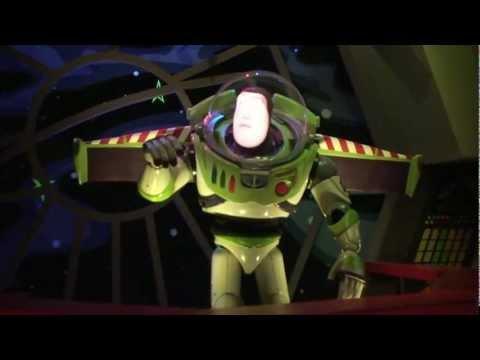 Buzz Lightyear's Space Ranger Spin ride-through at Disney's Magic Kingdom