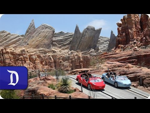 Solar Panels Added to Radiator Springs Racers in Cars Land at the Disneyland Resort
