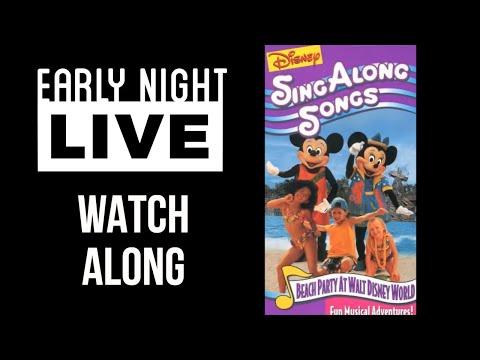 Early Night Live: Beach Party at Walt Disney World Watch Along
