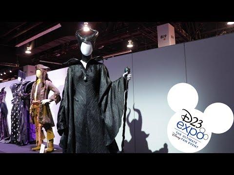 2019 D23 Expo: Disney Costumes Exhibit