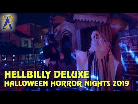 Rob Zombie Hellbilly Deluxe Scare Zone at Halloween Horror Nights Orlando 2019