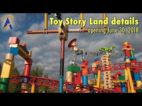 Imagineer Talks Toy Story Land Details - Opening June 30 at Disney's Hollywood Studios