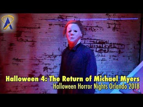 Halloween 4: The Return of Michael Myers highlights from Halloween Horror Nights Orlando 2018