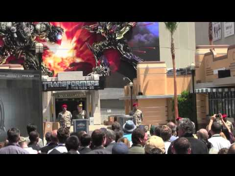 Transformers: The Ride grand opening ceremony at Universal Studios Hollywood