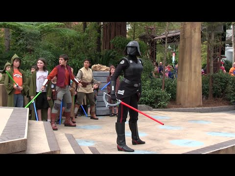 Jedi Training: Trials of the Temple - full show at Disney's Hollywood Studios