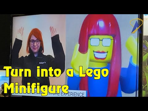 Turn Yourself into a Minifigure! New Dark Ride Reveal for Legoland New York