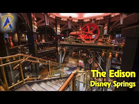The Edison restaurant tour at Disney Springs