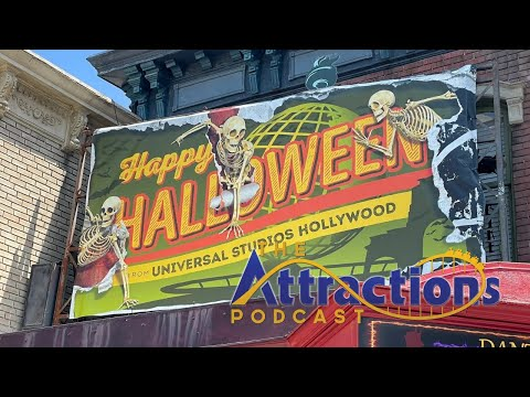 LIVE: The Attractions Podcast #103 - Halloween Horror Nights, Disney AP updates, and more!