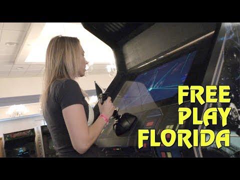 Florida's Largest Arcade & Pinball Expo - Free Play Florida