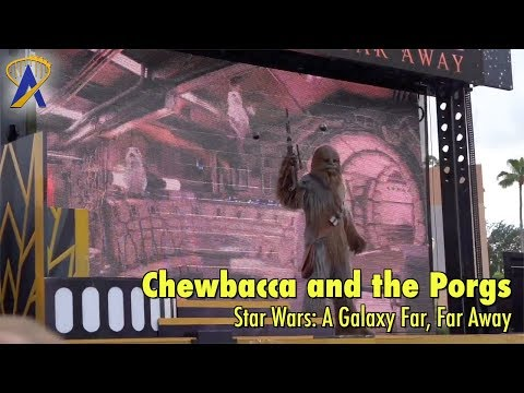 Clips from 'Solo' and Porgs added to Chewbacca scene in Star Wars: A Galaxy Far, Far Away