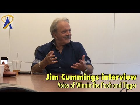 Interview with Jim Cummings, voice of Winnie the Pooh and Tigger