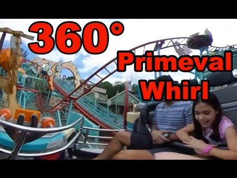 360° Ride on Primeval Whirl at Disney's Animal Kingdom