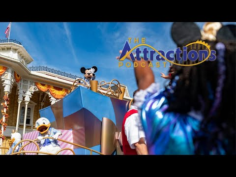 LIVE: The Attractions Podcast #107 - All about Disney World's 50th!