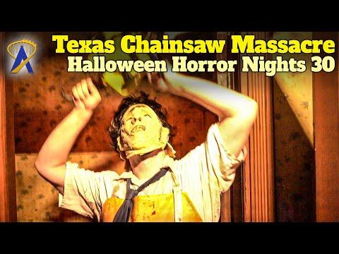 The Texas Chainsaw Massacre Walkthrough - Halloween Horror Nights 30 - Orlando