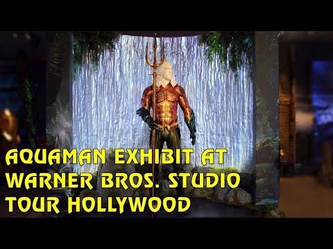 Aquaman Exhibit at Warner Bros. Studio Tour Hollywood