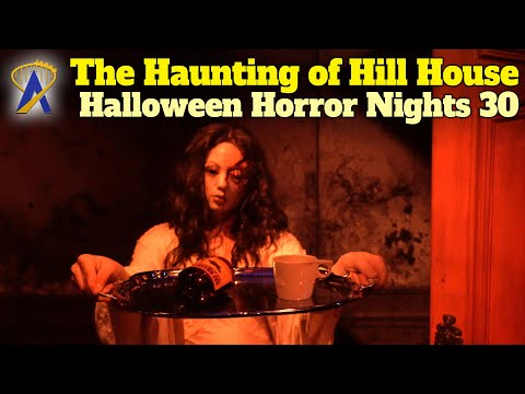 Netflix's The Haunting of Hill House Walkthrough - Halloween Horror Nights 30 - Orlando