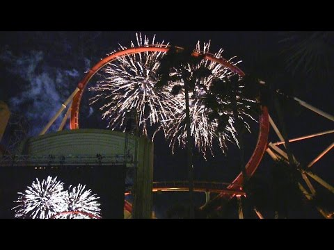Opening Night Fireworks for A Celebration of Harry Potter 2016