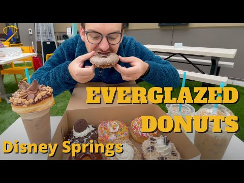 Trying Everglazed Donuts and Cold Brew at Disney Springs, Walt Disney World