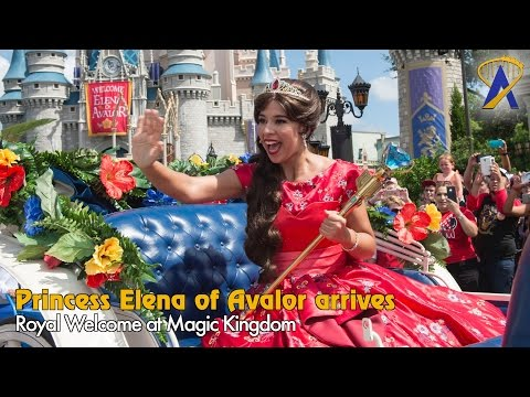Princess Elena of Avalor Royal Welcome at Magic Kingdom