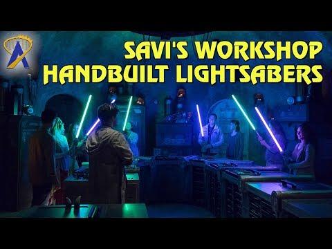 Savi's Workshop – Handbuilt Lightsabers at Star Wars: Galaxy's Edge