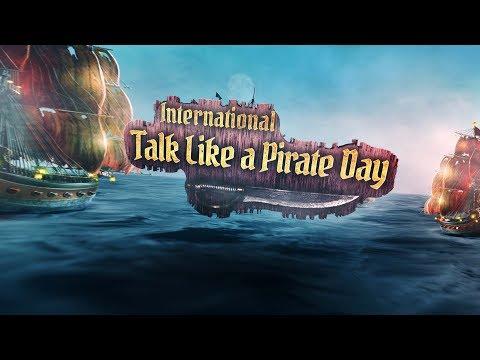 International Talk Like a Pirate Day 2018
