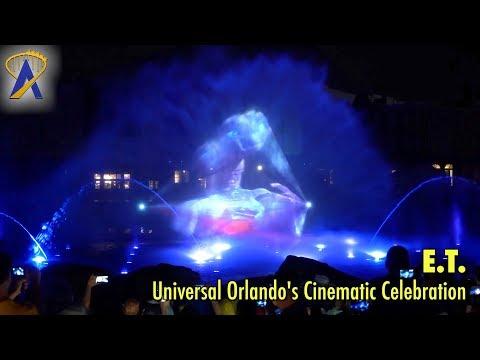 E.T. in Universal Orlando's Cinematic Celebration